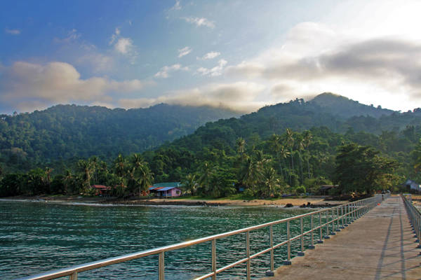 Air Batang Jetty Tioman Island