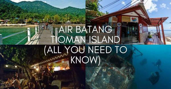 Air Batang Tioman Island