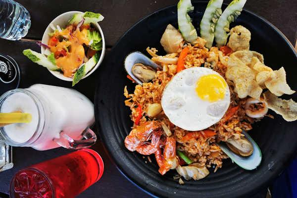 Asian Seafood Dishes At Juara Tioman