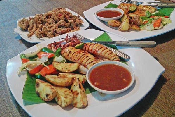 BBQ Seafood At Salang Village