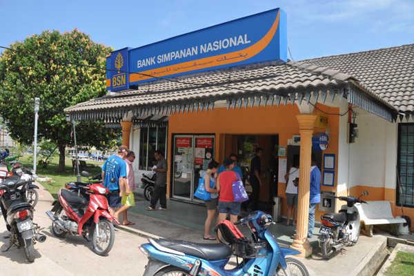 Bank Simpanan Nasional At Tekek, Tioman Island