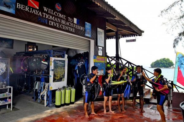 Dive Centre at Berjaya Tioman Resort