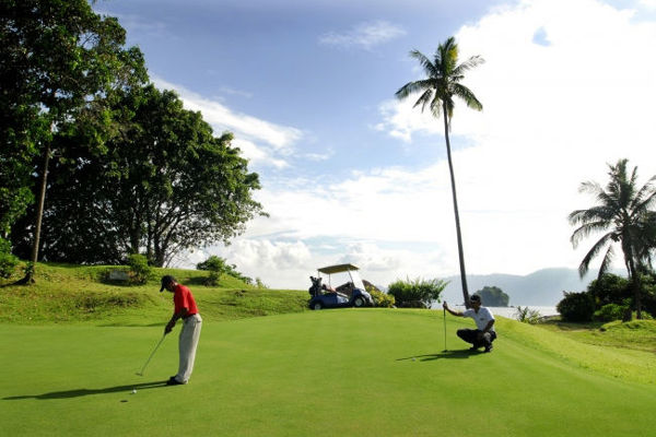 Golf Course at Berjaya Tioman Resort