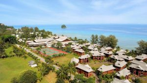 Top View of Berjaya Tioman Resort - Tioman Island Snorkeling Package