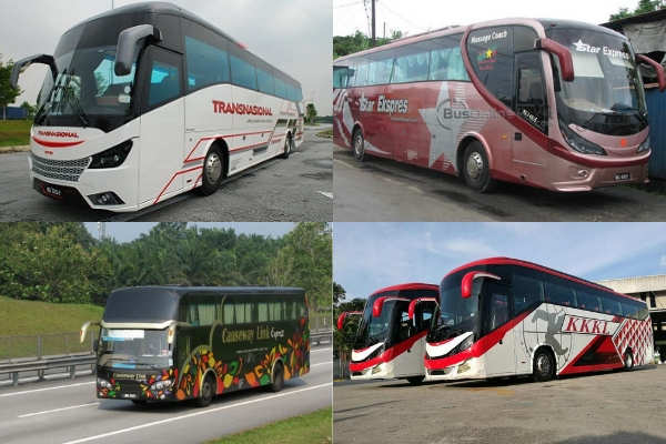 Bus Operators from Singapore to Tioman Island