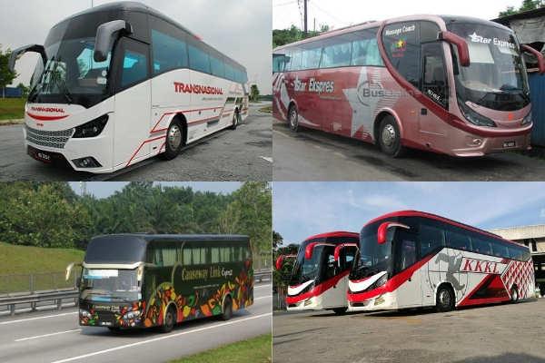 Bus Operators from Singapore to Tioman Island