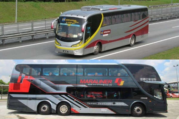 Bus from JB to Tioman Island