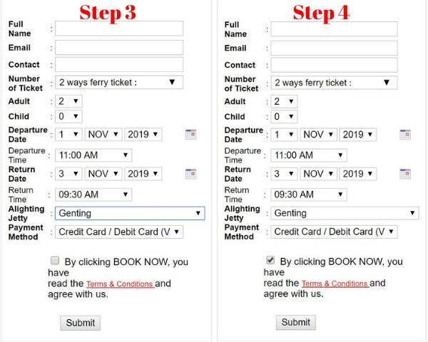Buy Bluewater Express Ticket To Tioman Island Online Via Tiomanferryticket- 2