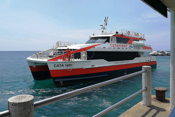 Cataferry Ferry to Tioman Island