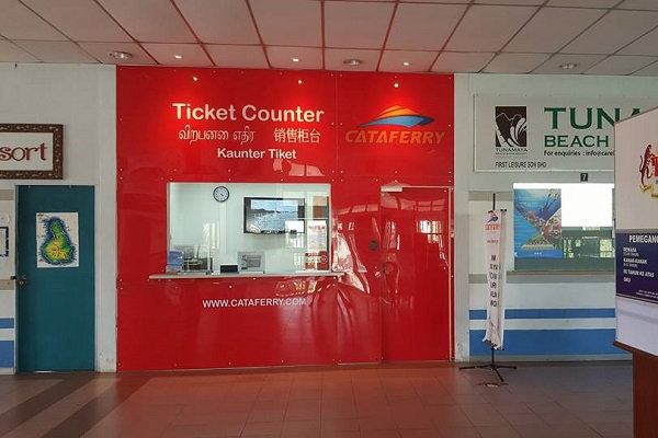 Cataferry Ticket Counter