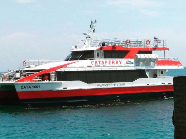 Cataferry is a Double-hull Catamaran