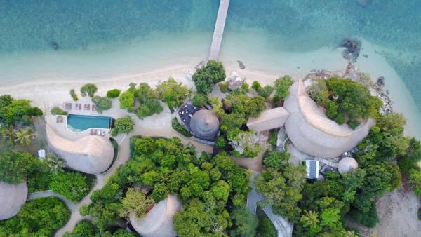 Cempedak Private Island, Indonesia