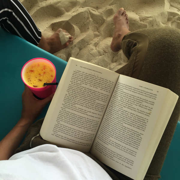 Chill With A Good Book By The Beach at Rawa Island