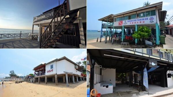 Dive Center At Paya Tioman
