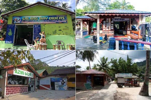 Diving Centre At Salang Village