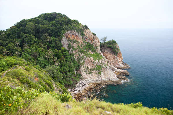 One of The Things to do in Rawa Island is Hilltop Jungle Trekking