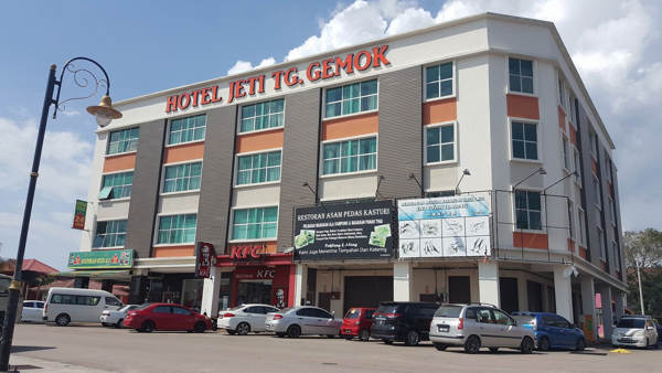 Hotel Jeti Tg Gemok near Tanjung Gemok Jetty