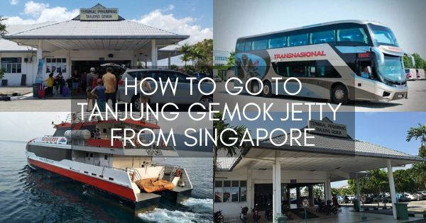 How To Go To Tanjung Gemok Jetty From Singapore