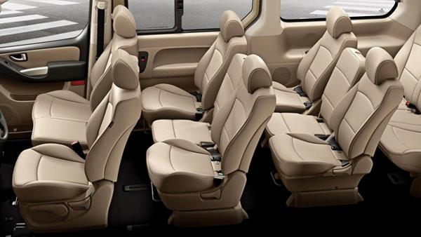 Hyundai Starex Interior Seating