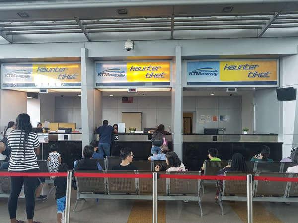 JB Sentral KTM Ticket Counter