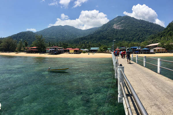 Jetty at Paya, Tioman Island
