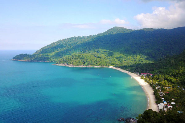 Juara Tioman Is The Only Village Along The East Coast