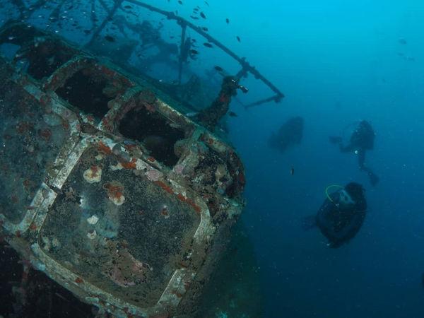 KM Sipadan & Sawadee Wrecks At Tioman Island
