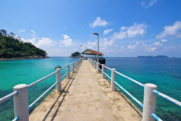 Last Ferry Stop From Mersing - Salang Jetty