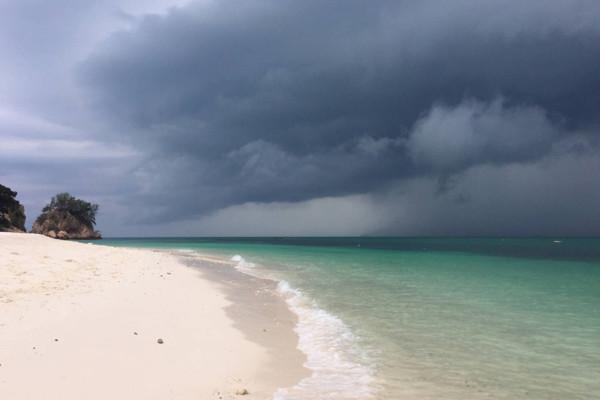 Monsoon Season At Rawa Island