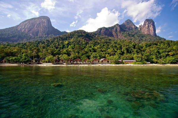Mukut Beach At Tioman Island