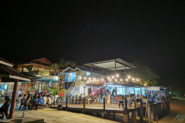 Nightlife At Paya Tioman
