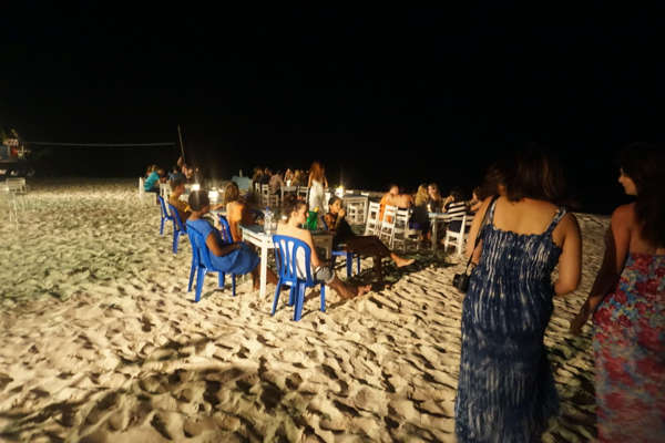 Partying The Night Away At Rawa Alang's Resort by the Beach