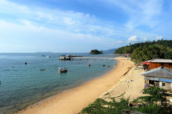 Paya Beach At Tioman Island