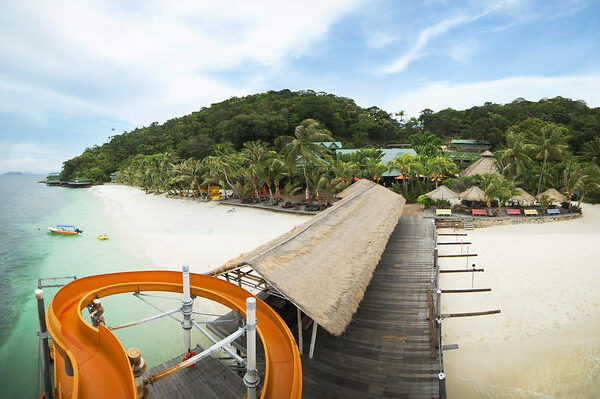 Over View of Rawa Island Resort