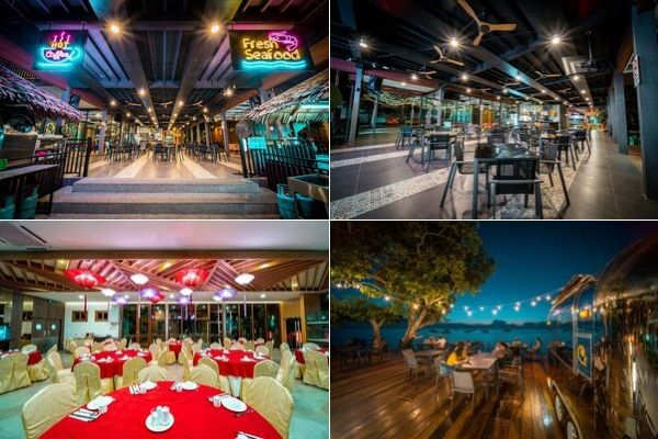 Restaurants at Aman Tioman Beach Resort