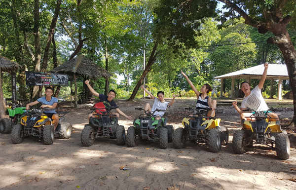 Ride An ATV At Paya Tioman