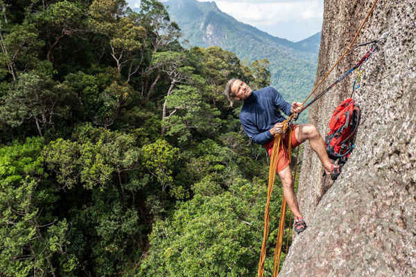 Rock Climbing At Mukut Tioman Island