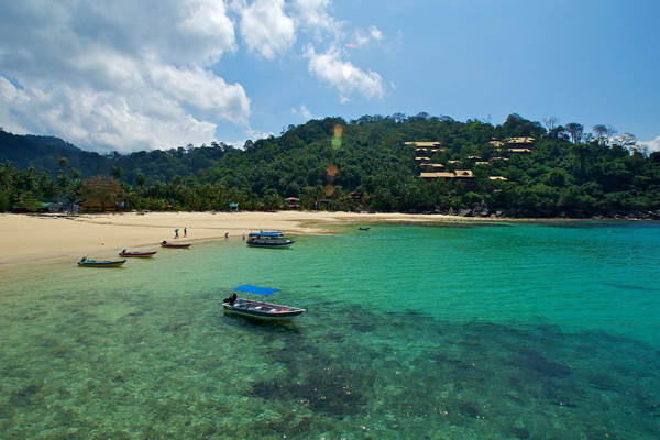 Salang Bay At Salang, Tioman Island