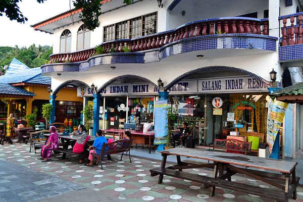 Salang Indah Mini Market At Salang Indah Resort