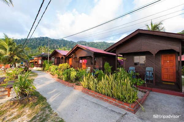 Salang Sayang Resort Entrance