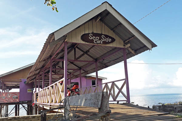 Sea Side Cafe At Mukut Tioman