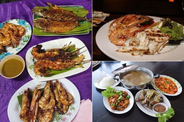 Seafood at Tioman Island