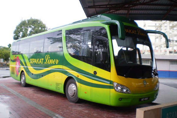 Sepakat Liner Bus from KL to Tioman Island