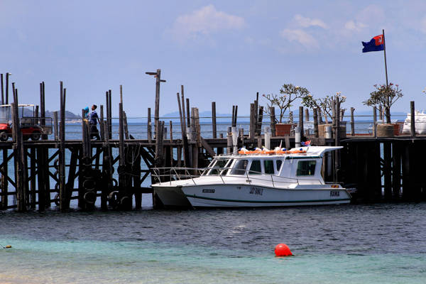 Speedboat to Rawa Island