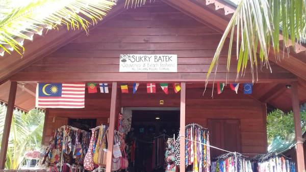 Sukry Batek At Salang Village Tioman
