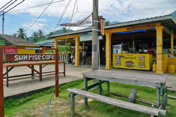 Sunrise Cafe At Paya Tioman