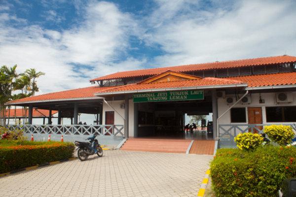 Tanjung Leman Jetty Johor