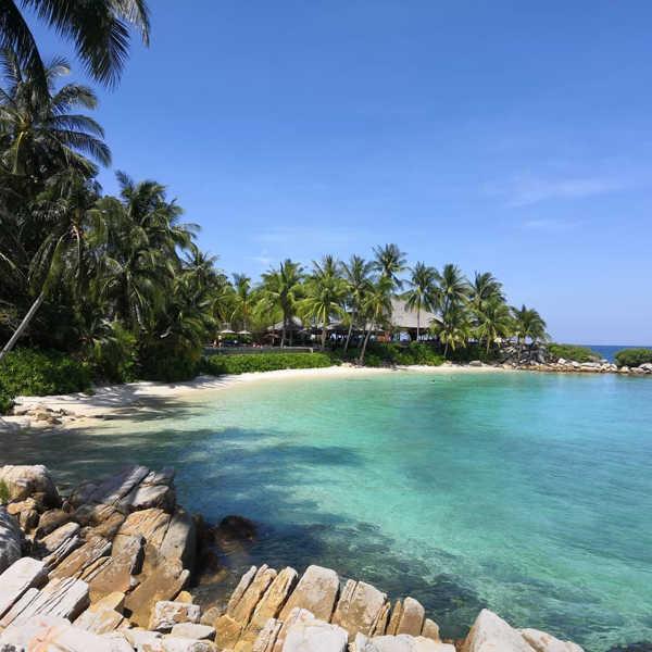 Tengah Island At Johor, Malaysia