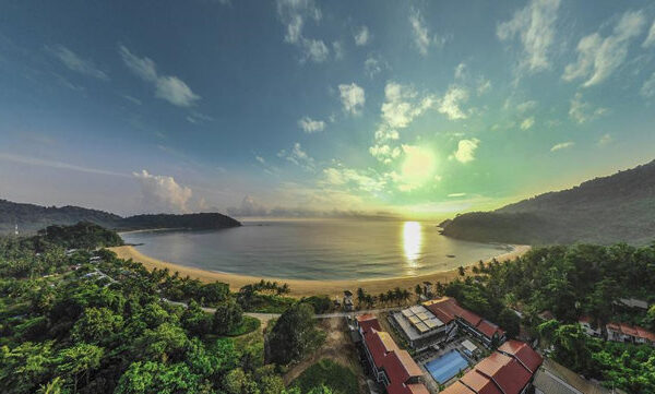 The Barat Tioman Beach Resort-Overall Resort and Beach View