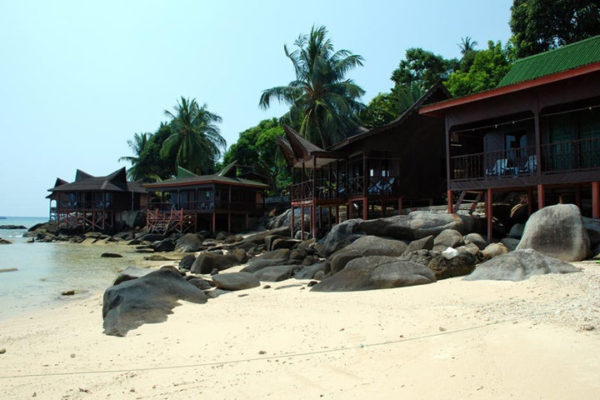 Salang Indah Resort at Pulau Tioman